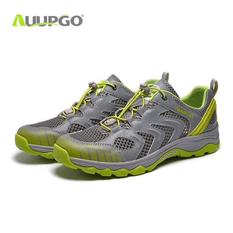 51935430ea1d3 2016 New Men Trekking Shoes Summer Breathable Mesh Hiking Shoes Men Outdoor  Sneakers For Men and