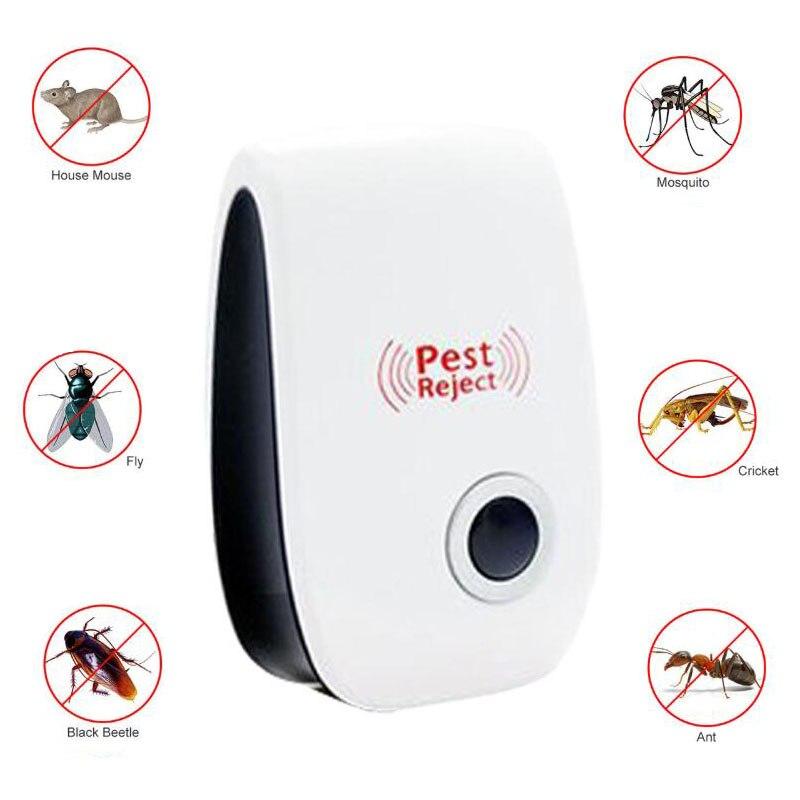 Rato ultrassônico eletrônico assassino barata armadilha inseto mosquito repeller ratos aranhas prático dispositivo de controle de pragas