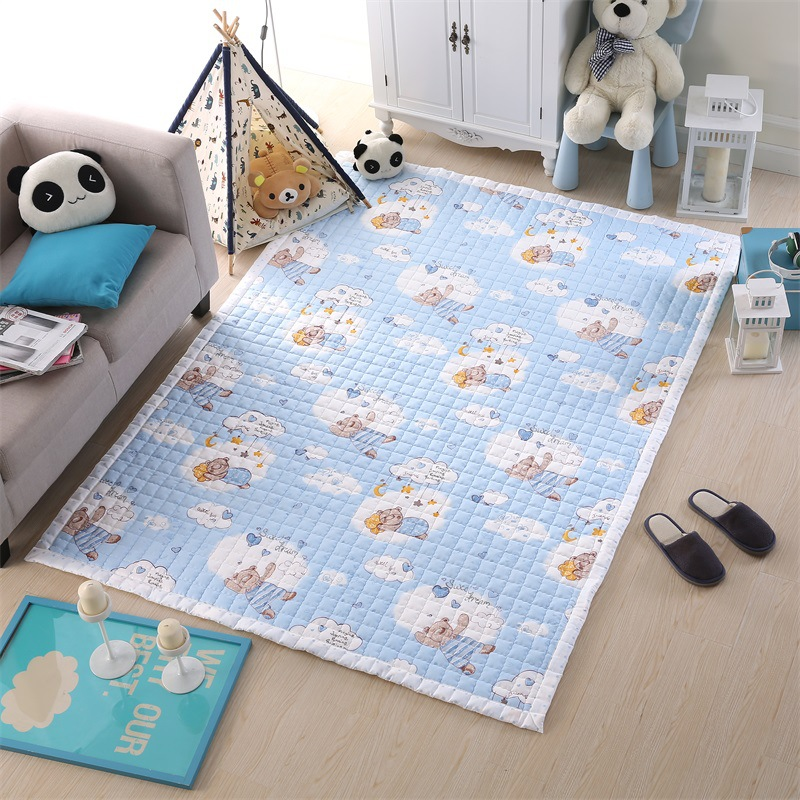 cotton sheep children bedroom rugs and carpets storage bag kids