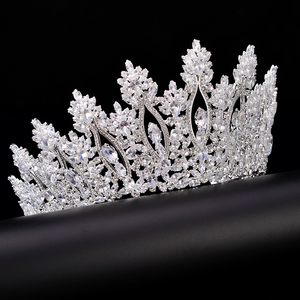 Image 3 - Tiaras และ Crowns HADIYANA คลาสสิกใหม่แฟชั่นการออกแบบเจ้าสาวอุปกรณ์เสริมผมจัดงานแต่งงานผู้หญิง BC5070 Corona Princesa