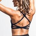 Sexy Ladies Preto Acolchoado Bralette Cinta Cruz Tops Separado Mulheres Curativo Maiô Beach Wear Top Underwear Bras Lingeries