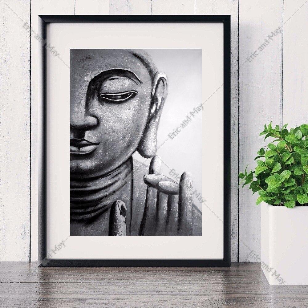 buddha zen abstrakte leinwand kunstdruck malerei poster mauerbilder fr wohnzimmer dekoration decor kein rahmenchina - Buddha Deko Wohnzimmer