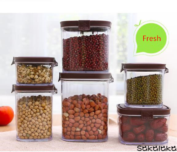 Creative Kitchen Gifts Intellectual Sense Popup Cover Food Seal Pot Sealed Container Storage Containers Peservation