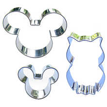 Mitch Avatar , Mini mitch, Owl shaped 3 piece biscuit cutting molds, baking tools, cake decorating soft candy tools.(China)