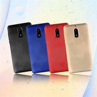 Luxury 2017 Electroplating Capa Para For Nokia 6 Cases Silicone Rubber Ultra Thin Carbon Fiber Mobile Phone Bags For Nokia 6 De
