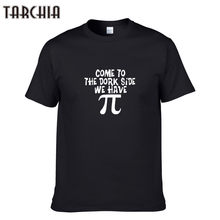 TARCHIA Men T-Shirts COME TO THE DORK SIDE WE HAVE Autumn Spring Men's Hip Hop Short Sleeve T shirts Casual Streetwear Tops(China)
