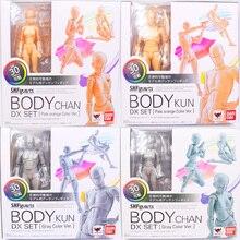 15cm פעולה גוף קון/גוף CHAN DX סט אפור/כתום צבע Ver. PVC פעולה איור אסיפה דגם צעצוע