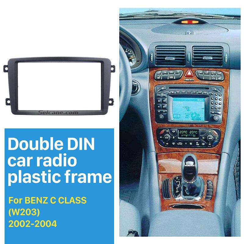 Seicane Double Din Car Radio Fascia DVD Player For 2002