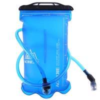 Bolsa de agua plegable de TPU para exterior de 1 5/2/3L  para acampar  senderismo  ciclismo  correr  deportes  hidratación  bidón bolsa de agua  cepillos limpiadores de tubo