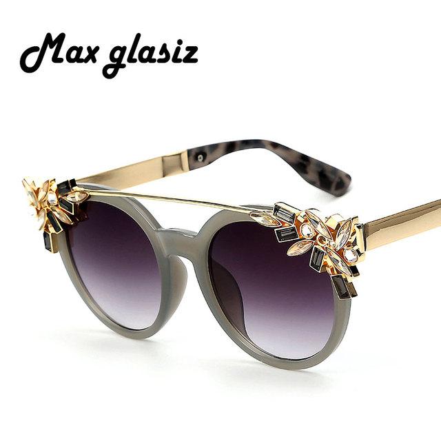 Luxury Diamond Cat Eye Shades Sunglasses