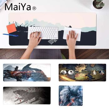 MaiYa Vintage Cool Game of Thrones Beautiful Anime Mouse Mat Gamer Speed Mice Retail Small Rubber