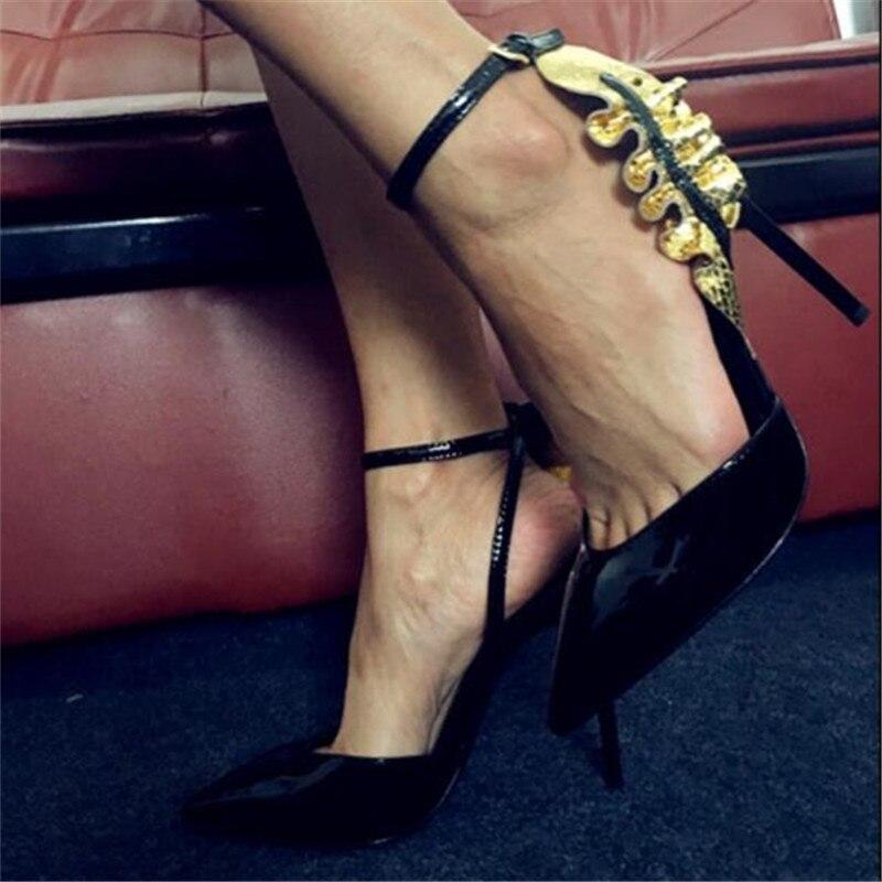 Couleur De Pointu Femmes Dames Mixte Bout Noce Femme Super Talons Marée Designer Nouveau Chaussures Stilettos Show Pompes As Haute Sexy SXXa0v