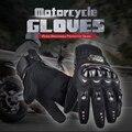 НОВЫЕ PRO Перчатки Мотоцикла Полный Палец Защитное Снаряжение Черный Углеродного Волокна Мотоцикл Moto Racing Мотокросс Перчатки Luvas