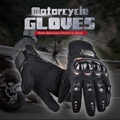 NEW PRO Motorcycle Gloves Full Finger Protective Gear Black Carbon Fiber Bike Motorbike Racing Motocross Gloves Moto Luvas