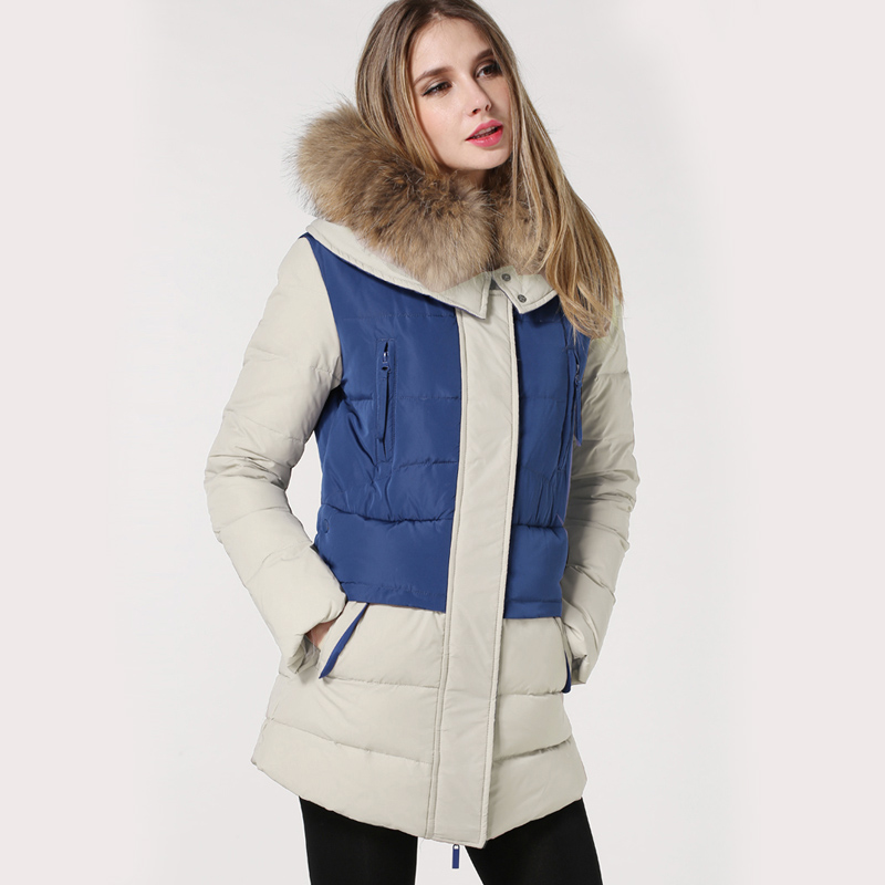 Winter Jacket Women 2017 New Winter Womens Parka Natural Real Raccoon Fur Outwear Military Hooded Coat Parkas Manteau Femme new fashion winter jacket women 2017 large real natural raccoon fur collar hooded jacket thick coat for women outwear down parka