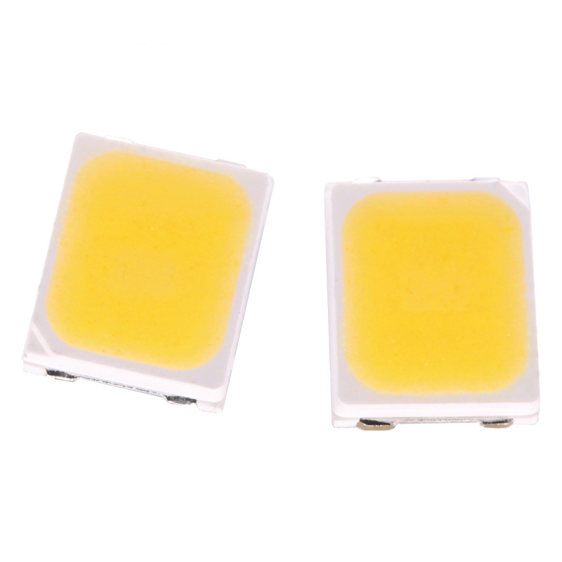 100pcs SMD 2835 Warm White LED Chip 0.5W 3V 150mA 50-55LM Ultra Bright SMT Surface Mount LED Chip DIY Light Emitting Diode Lamp