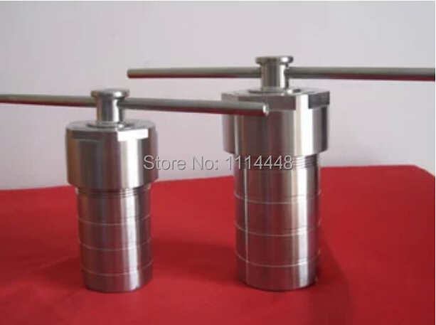 50ml Stainless Steel High Pressure Hydrothermal Autoclave Reactor Tank Chamber with Teflon Lined Hydrothermal Synthesis 50ml srosin 50ml