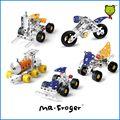 Mr. Froger ATV motocicleta tren metal 3D DIY bloques de construcción juguetes educativos para los niños de regalos creativos de la serie imaginación