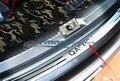 Frete grátis para 2007-2009 2011-2013 Nissan Qashqai Aço Inoxidável MK1 volta tronco traseiro Placa de Chinelo Peitoril pedal proteção