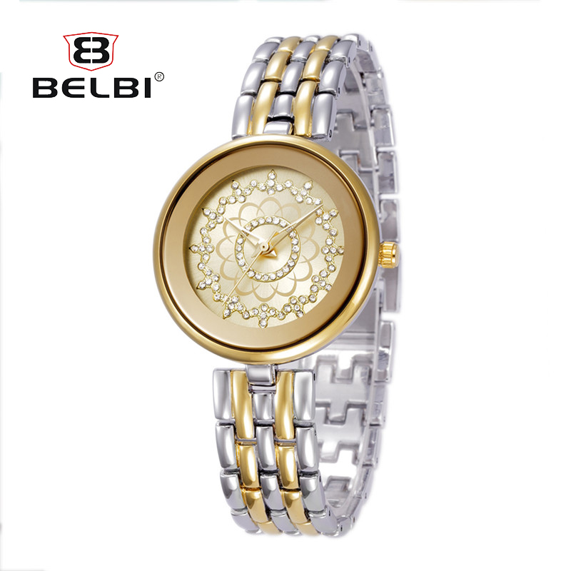 BELBI Top Luxury Brand Women Wristwatches Japanese Movement Quartz Watch Fashion Design Dial Retro Ladies Clock for Female Gift xiniu retro wood grain leather quartz watch women men dress wristwatches unisex clock retro relogios femininos chriamas gift 01