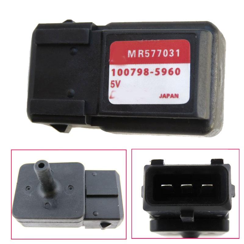 MR577031 100798-5960 Intake Pressure Sensor Fits For Mitsubishi Shogun DI-D Elegance LWB 3.2 Map Sensor 9486209 free delivery intake pressure sensor 0261230011 genuine