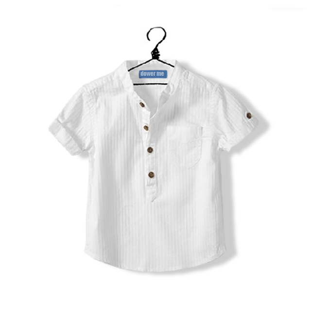 316313b03 Hot New 2017 Summer Toddler Clothing Baby Boys White Shirt Cotton ...