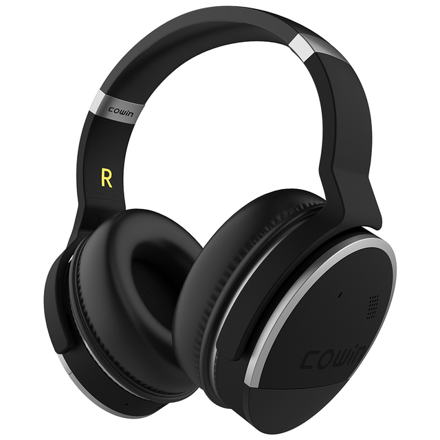 Original Cowin E8 Active Noise Cancelling Bluetooth Headphones Wireless Stereo Deep Bass Over Ear Headset for phones -30dB level