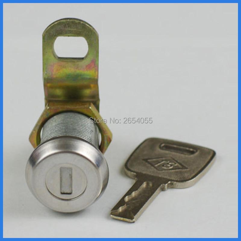 US $39.0 |10 pcs 27mm waterproof dustproof tubular cam lock kitchen cabinet  lock with same keys-in Locks from Home Improvement on AliExpress