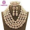 Accesorios de La Joyería de Moda de lujo 4 Capas de Oro Árabe Dubai Joyería de la Boda para Las Novias Envío Libre Caliente WD792