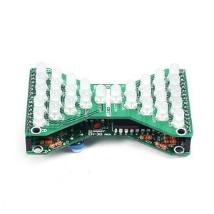 Набор для творчества Красный Синий Зеленый LED Регулируемая скорость электронные песочные часы DIY DC 5V Забавные электрические наборы для обучения навыкам