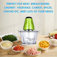 Automatic Electric Meat Grinder Multifunctional Meat Slicer Fruit Vegetable Chopper Cutter Food Processor Kitchen Cooking Tool