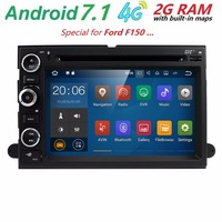 CarDVD Player GPS Navigation StereoFit Ford F150 F250/350/Edge/Fusion/Mustang Radio BT SWC Wifi Support 4G DVR TV DAB TPMS 2GRAM