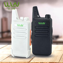 6pcs WLN kd-c1 two way radio 2 mini size walkie talkie with program cable or headset