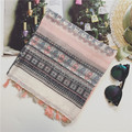 Women scarfs 2016,cotton viscose scarves,geometric printing scarf,Muslim hijab,tassel scarf,british style,shawls wraps,muffler