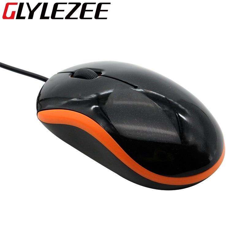 Sıcak Satış Marka 3D Optik USB Kablolu Mouse Fare 1600 DPI Ergonomik Gaming Mouse PC Dizüstü Bilgisayarlar Için Fare Bilgisayar Için