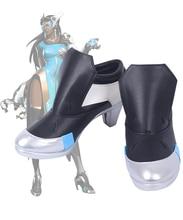 Game OW Satya Vaswani Symmetra Cosplay Boots Shoes Custom Made
