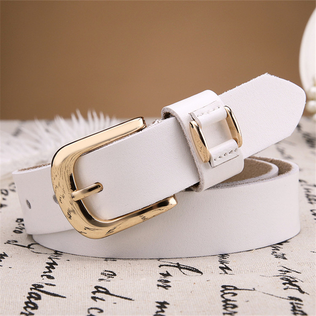 2017 Retro Casual Leather Belt