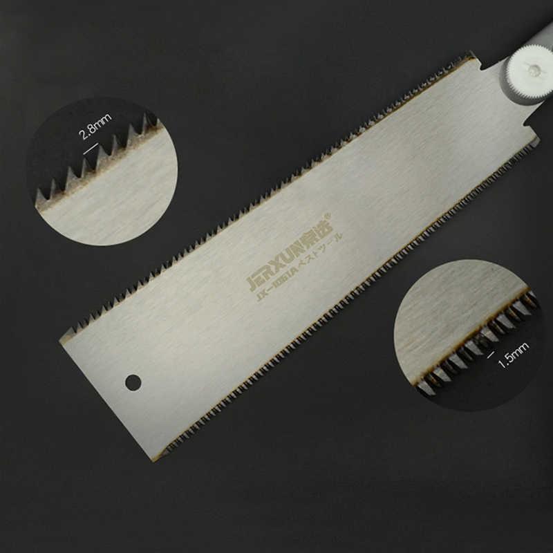 """Двухсторонняя бритвенная пила в японском стиле Ryoba Pull Saw 14/9 зубья ручные инструменты для тонкой Tenon деревообработки точные пилы 9-1/2"""""""