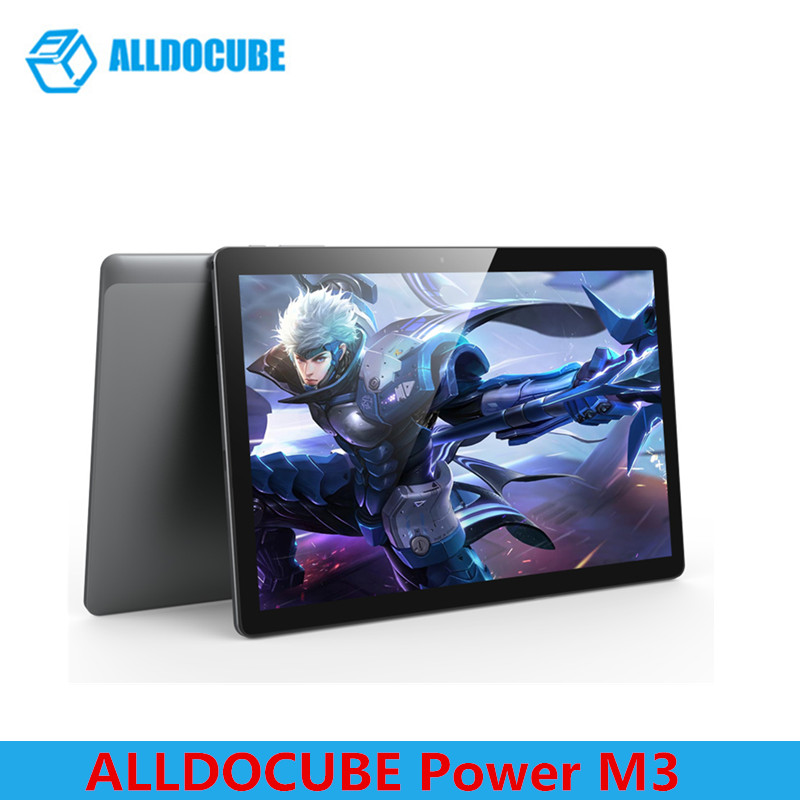 ALLDOCUBE Power M3 4G LTE Phablet 10.1 Inch MTK6753 Octa Core 1.5GHz Type-C 1920*1200 IPS Tablets Android 7.0 2GB/32GB OTG