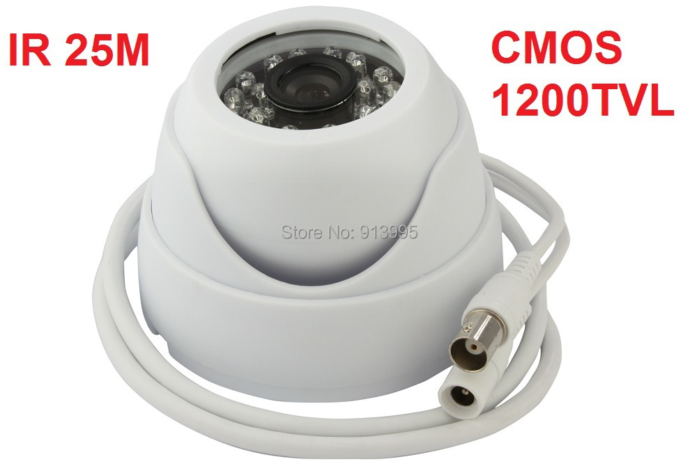 """IR LED day and night indoor In- Ceiling 1/3 inch""""color Sony CMOS 1200TVL mini dome cctv video camera with WDR, OSD ELP-512H2 inch"""