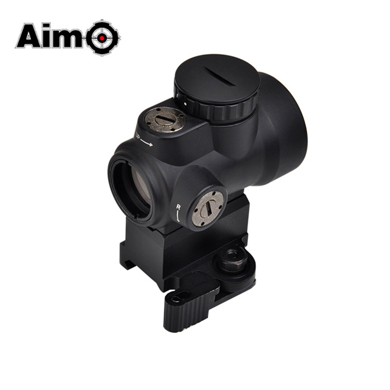 Aim-O Tactical MRO Red Dot Sight Scope With QD Riser Mount & Low Mount AO5087