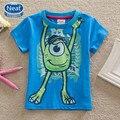 NEAT Free shipping 2014 baby&kids novel animal cartoon tutu boy round collar short sleeve cotton T-shirt NOVA A5139B