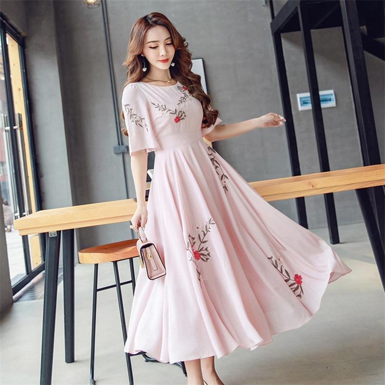 Женское платье-рубашка, Повседневное платье для отдыха на весну-лето