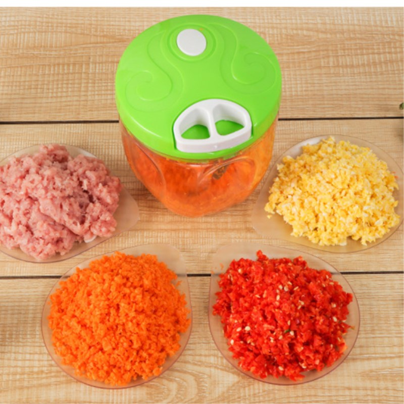 Manual Meat Grinder Food Chopper Shredder Hand Pulling Household Vegetable Meat Grinder Crusher Blender Kitchen Tools