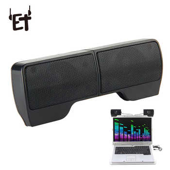 Vapeonly USB Stereo Speakers Portable Clip-on Mini Speaker line Controller Soundbar w/ Clip For PC Laptop Notebook Mp3 Player PC - DISCOUNT ITEM  26% OFF All Category