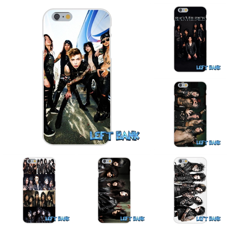outlet store 4e605 7cf36 US $0.99 |For iPhone 4 4S 5 5S 5C SE 6 6S 7 Plus Black Veil Brides Bvb Andy  Soft Silicone TPU Transparent Cover Case-in Half-wrapped Case from ...