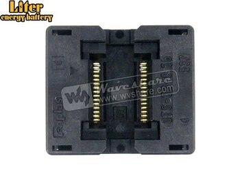 SSOP30 TSSOP30 OTS-30-0.65-01 Enplas IC Test Burn-in Socket Programming Adapter 0.65mm Pitch 6.1mm Width