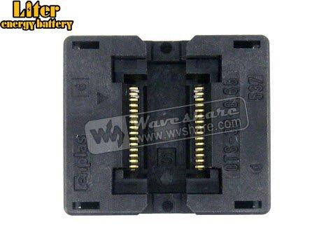 SSOP30 TSSOP30 OTS 30 0.65 01 Enplas IC Test Burn in Socket Programming Adapter 0.65mm Pitch 6.1mm Width