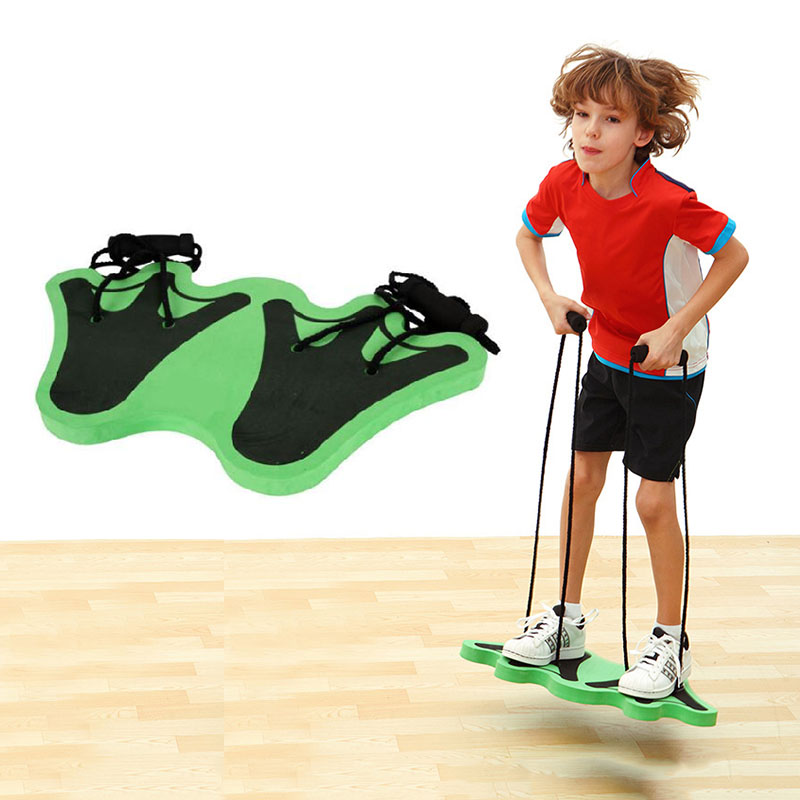 High Density EVA Foam Big Frog Feet Jumpboard For Children