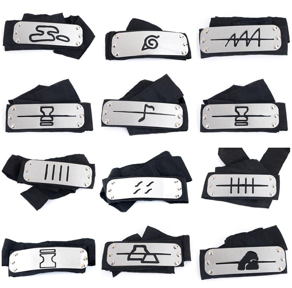 Naruto kawashi diadema cosplay disfraces accesorios Juguetes Accesorios Itachi akatsuki madara Anime diadema accesorios caliente